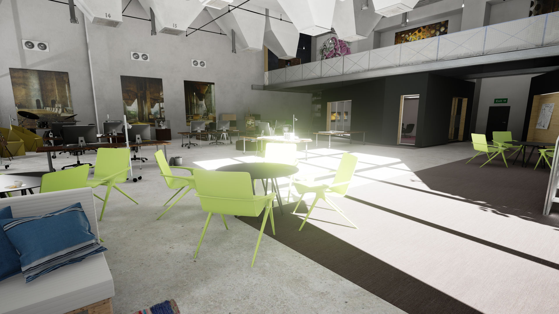 Scene 5 AI1 for Unreal Engine Archinteriors