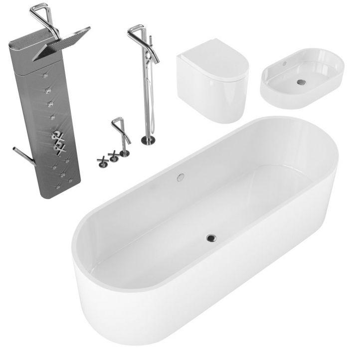 bathroom fixtures 27 AM127 Archmodels
