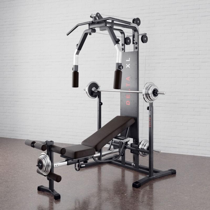 Gym equipment 2 AM169 Archmodels