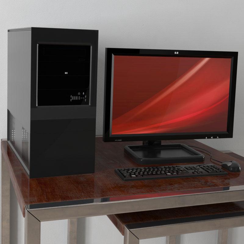 computer 10 AM156 Archmodels