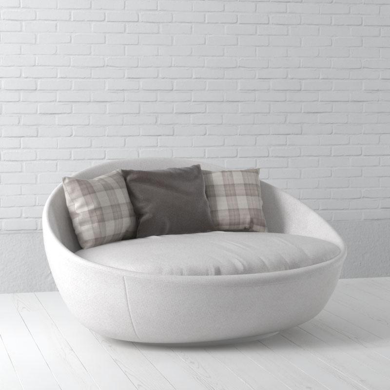 sofa 59 AM157 Archmodels