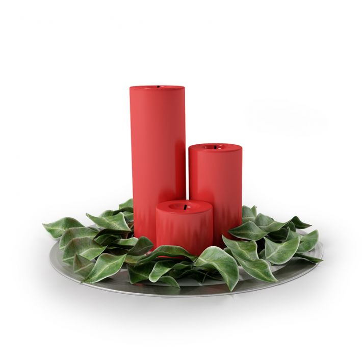 Christmas candlestick 18 AM88