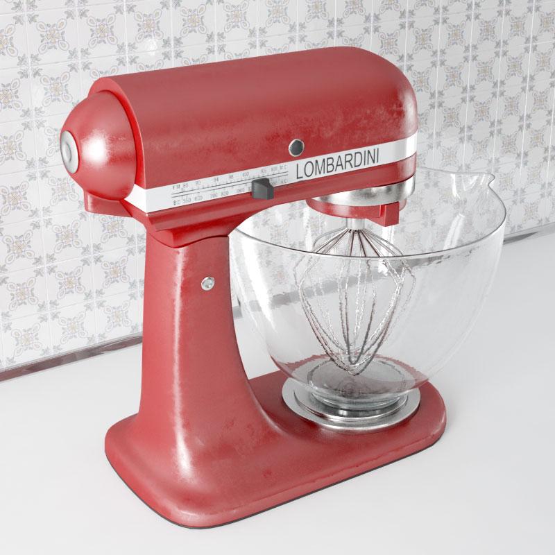 mixer 22 AM143 Archmodels