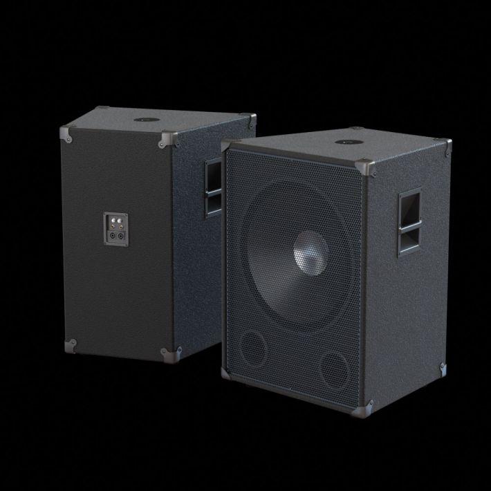 loudspeaker 51 AM104 Archmodels