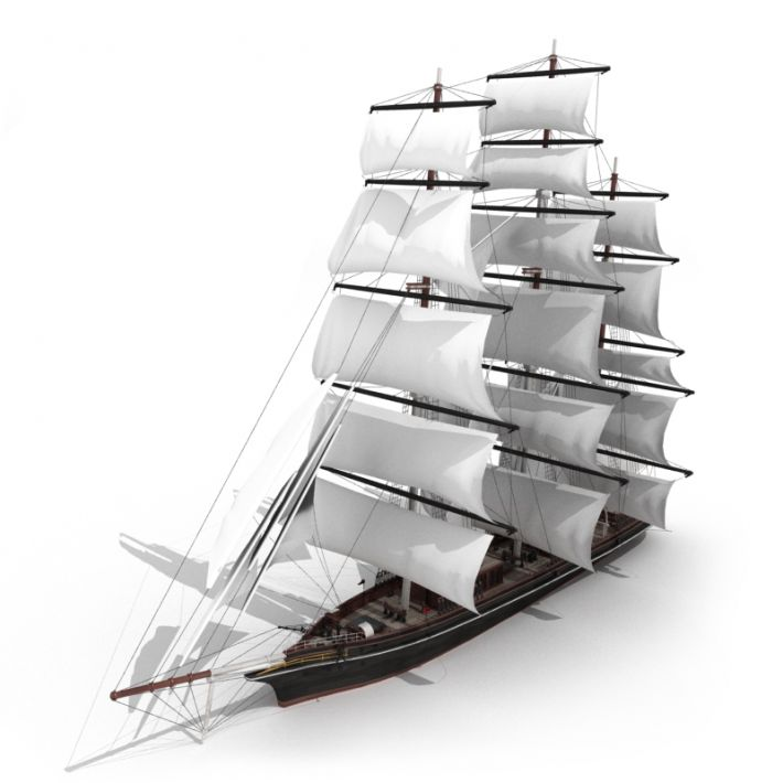 sailing ship 31 AM55 Archmodels