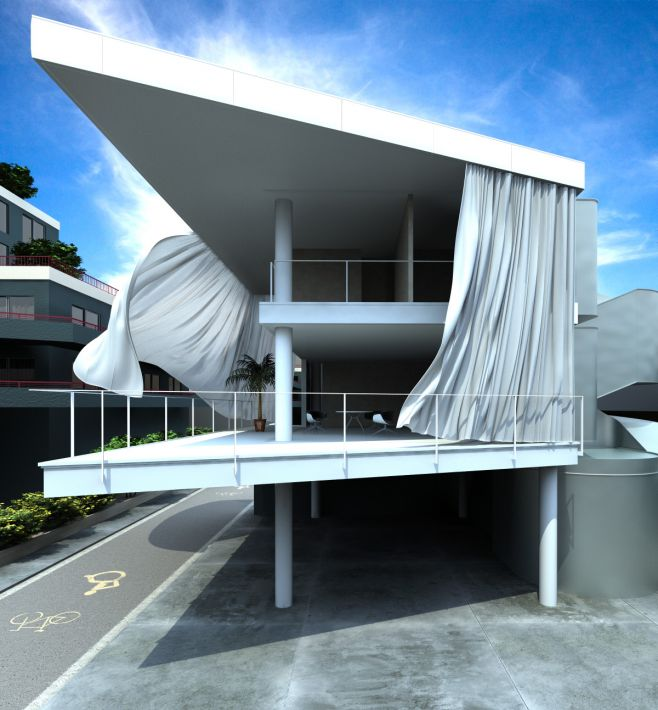 Scene 09 Archexteriors vol. 05 for Cinema4D
