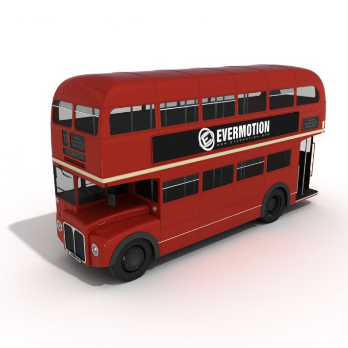 London bus 12 AM55 Archmodels