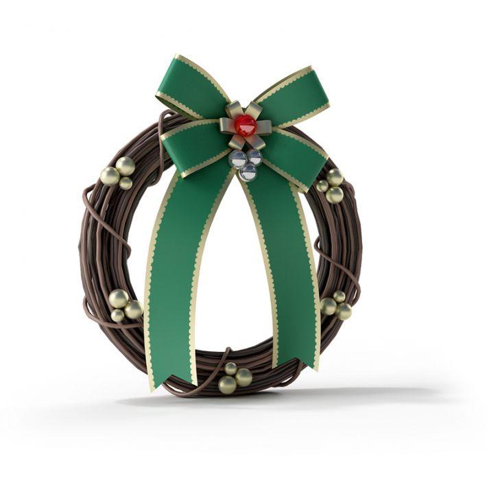 Christmas wreath 46 AM88 Archmodels