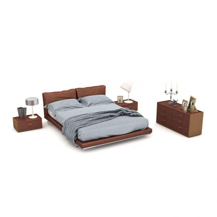 bedroom set 29 AM123 Archmodels