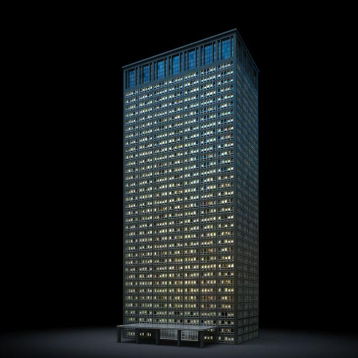 skyscraper 6 AM103 Archmodels