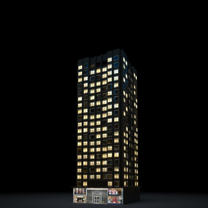skyscraper 51 AM103 Archmodels