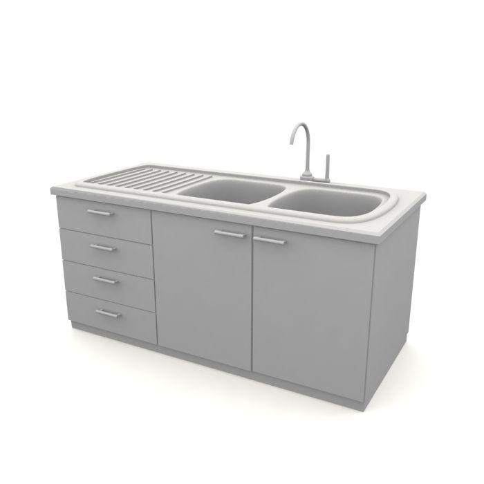 Kitchen Sink 57 AM10 Archmodels