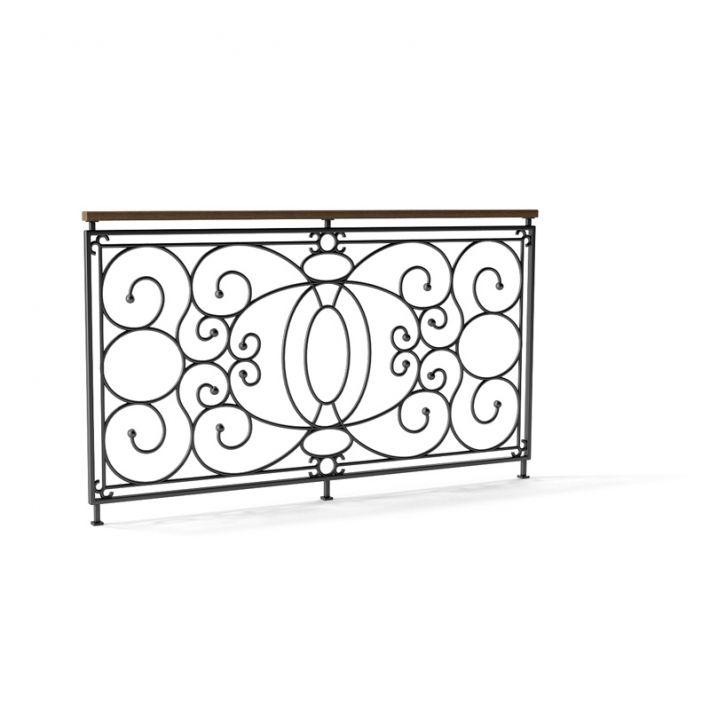 railing 127 AM79 Archmodels