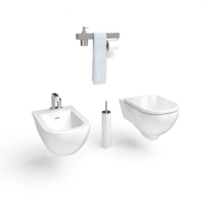 bathroom furniture set 54 AM56 Archmodels