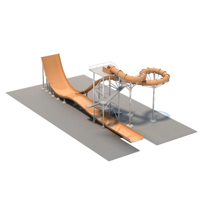 water slide 31 AM94 Archmodels