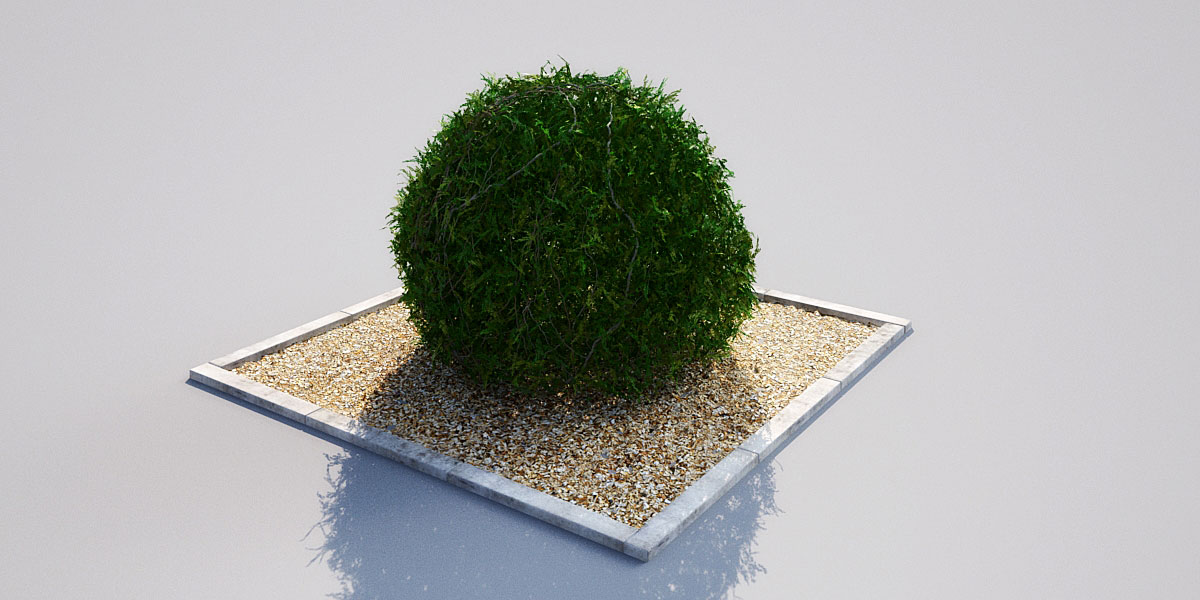 hedge 17 5 AM148 Archmodels