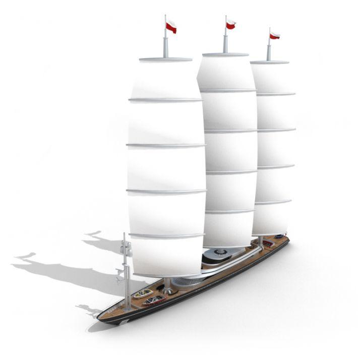 sailing ship 29 AM55 Archmodels