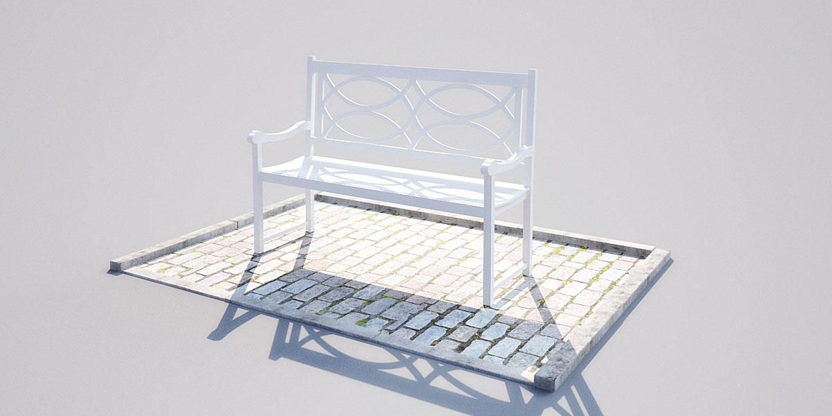 bench 18 5 AM148 Archmodels