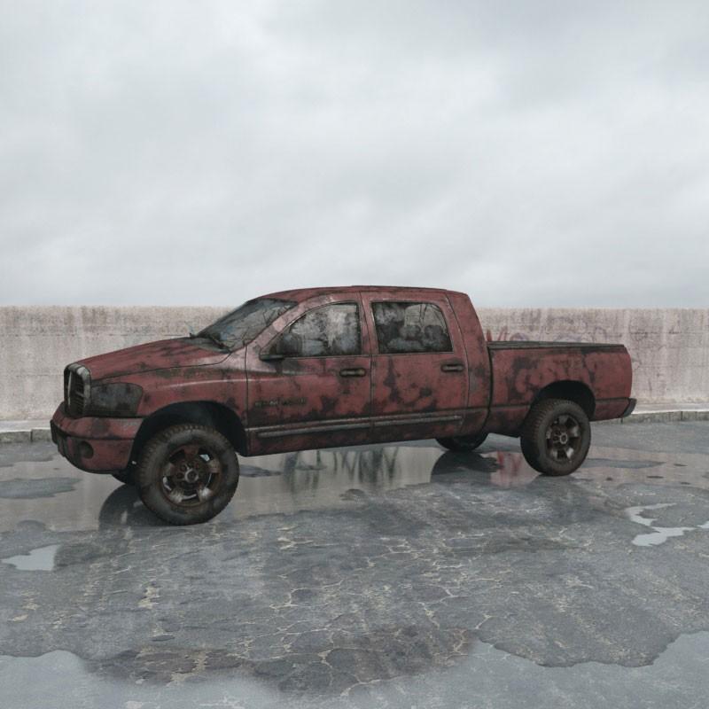 destroyed car 7 AM165 Archmodels