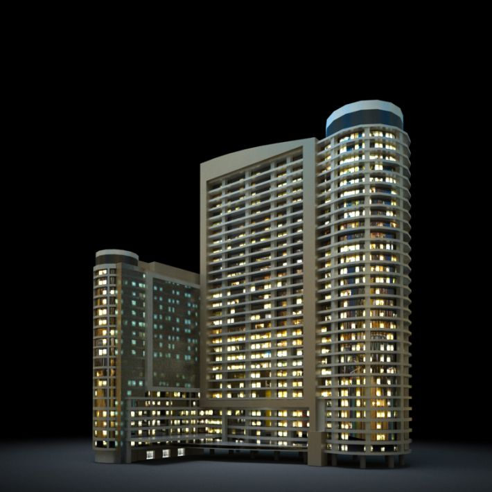 skyscraper 41 AM103 Archmodels