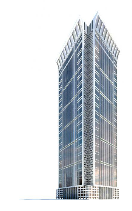skyscraper 36 AM71 Archmodels
