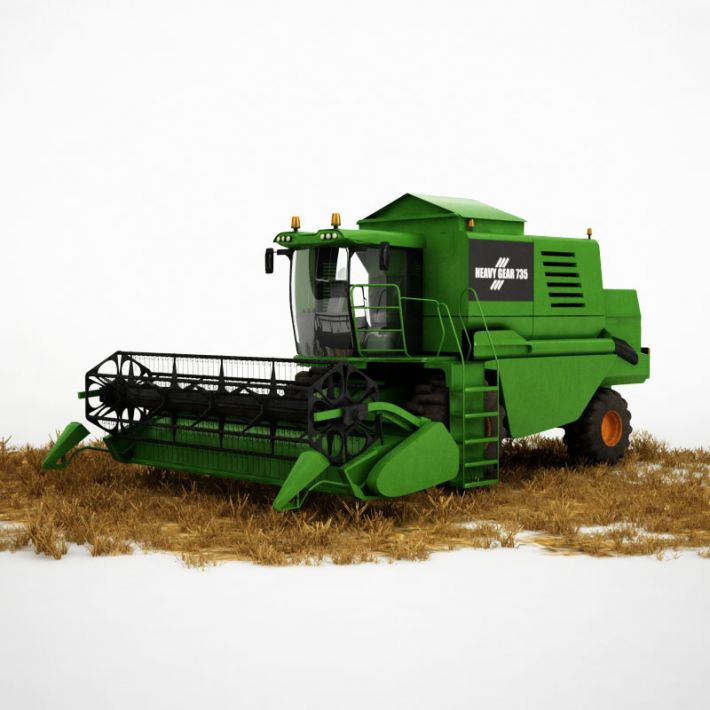 harvester 20 AM115 Archmodels