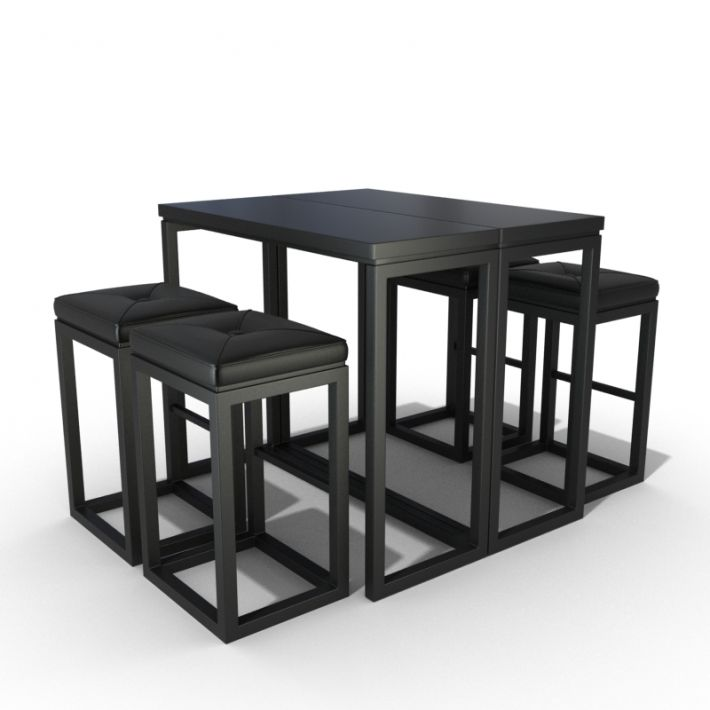 table & chair set 24 AM54 Archmodels