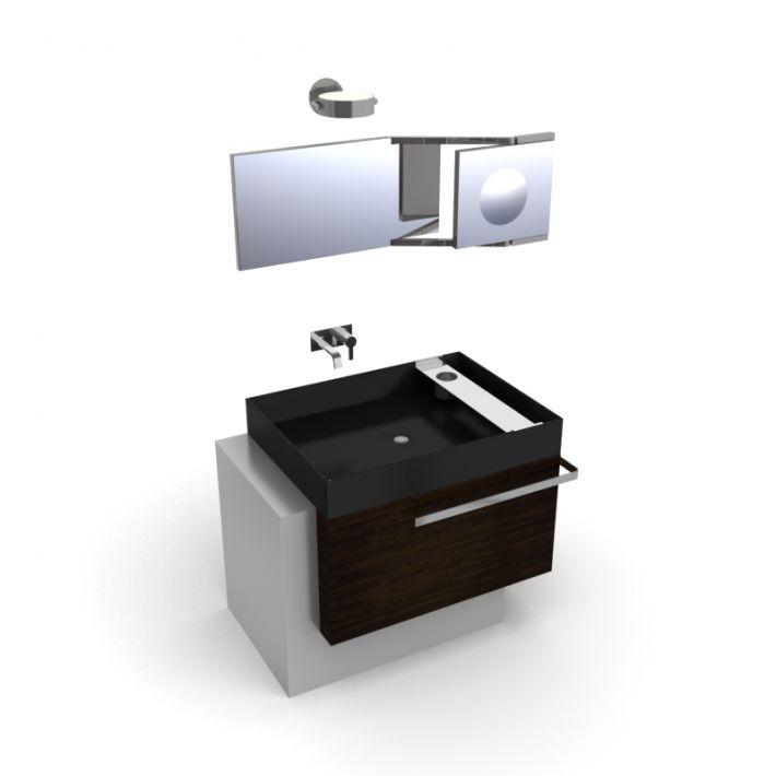 bathroom furniture set 22 AM56 Archmodels