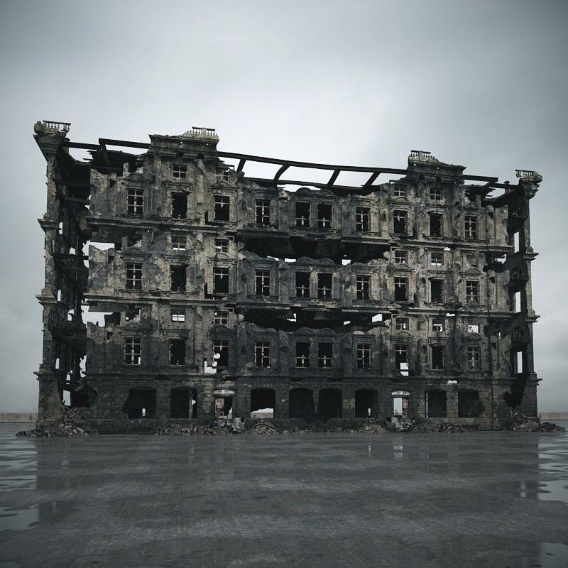 destroyed building 103 am165