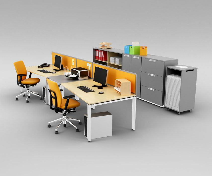 office set 10 AM110 Archmodels