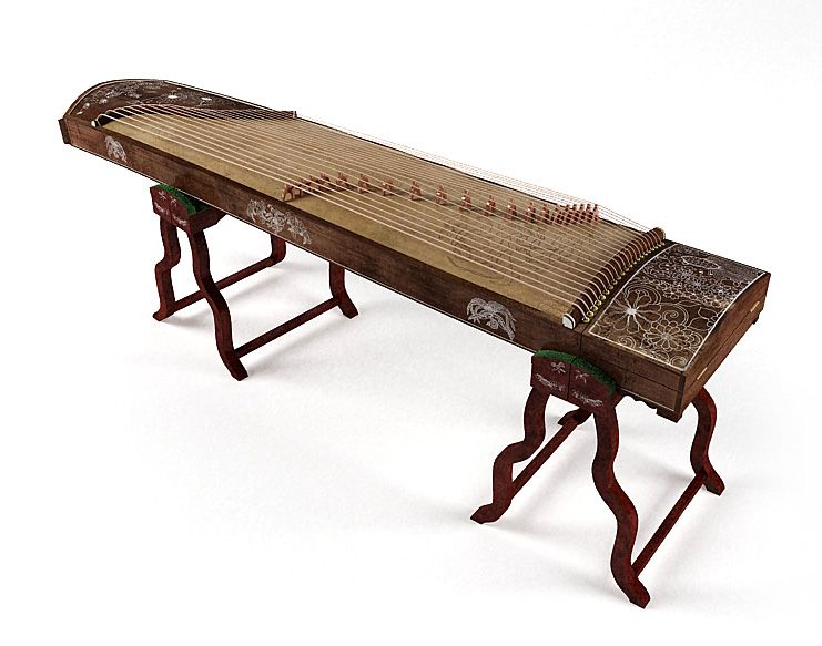Guzheng 17 AM67 Archmodels