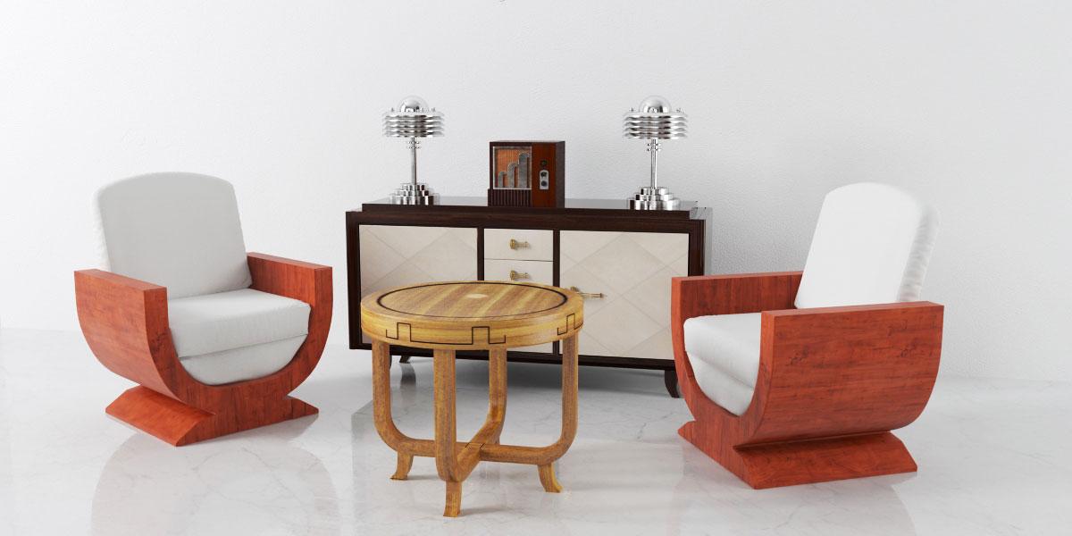 furniture set 10 AM142 Archmodels