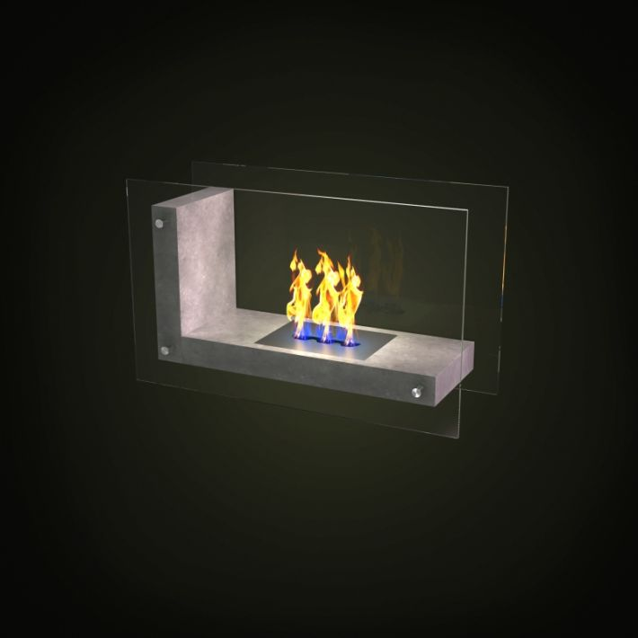 fireplace 5 AM97 Archmodels