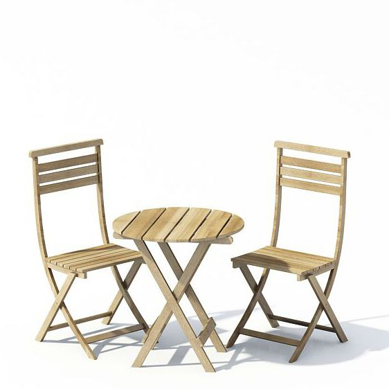 Garden furniture 74 AM22 Archmodels