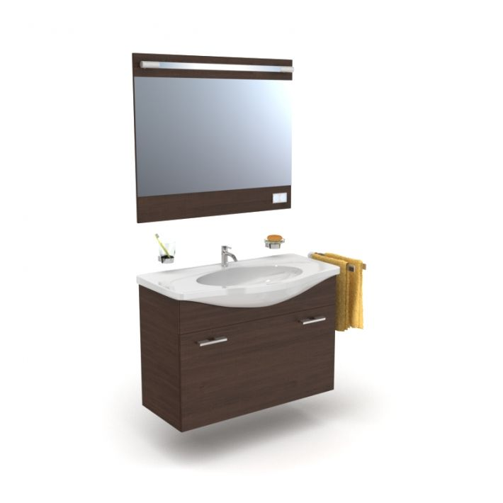 bathroom furniture set 27 AM56 Archmodels