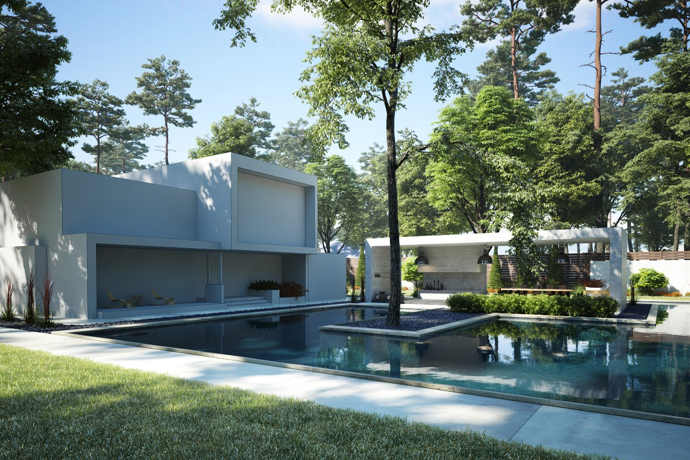 Archexteriors vol 30 max psd collection evermotion - Painting exterior render model ...