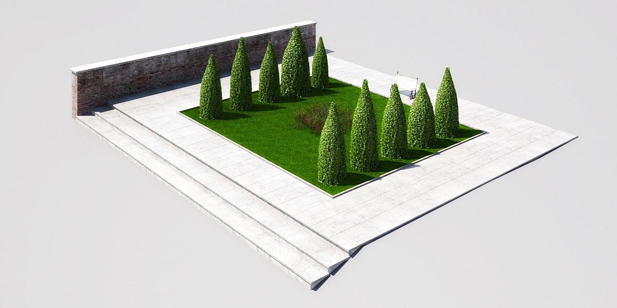 garden 3 2 AM148 Archmodels