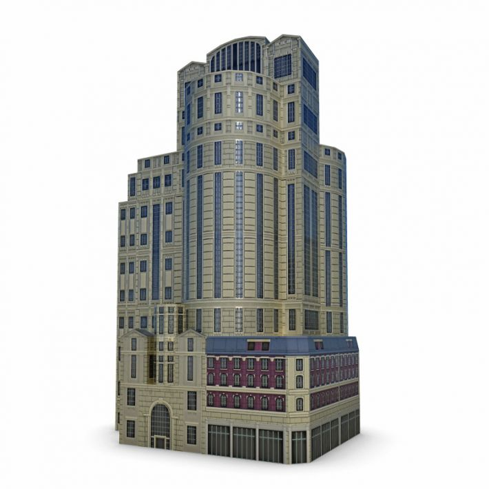 building 60 AM62 Archmodels