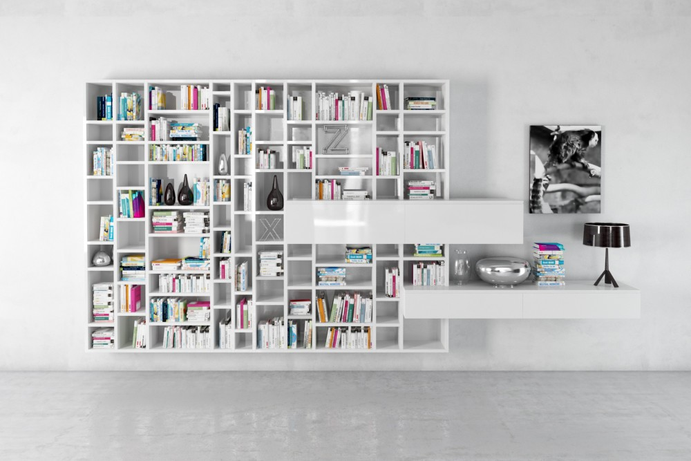 bookshelf 34 AM179 Archmodels