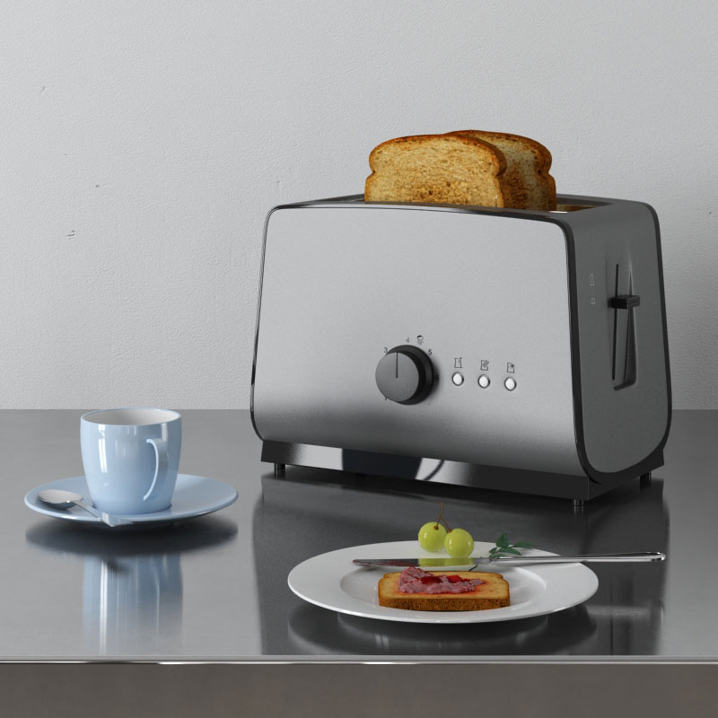 toaster 6 AM145 Archmodels