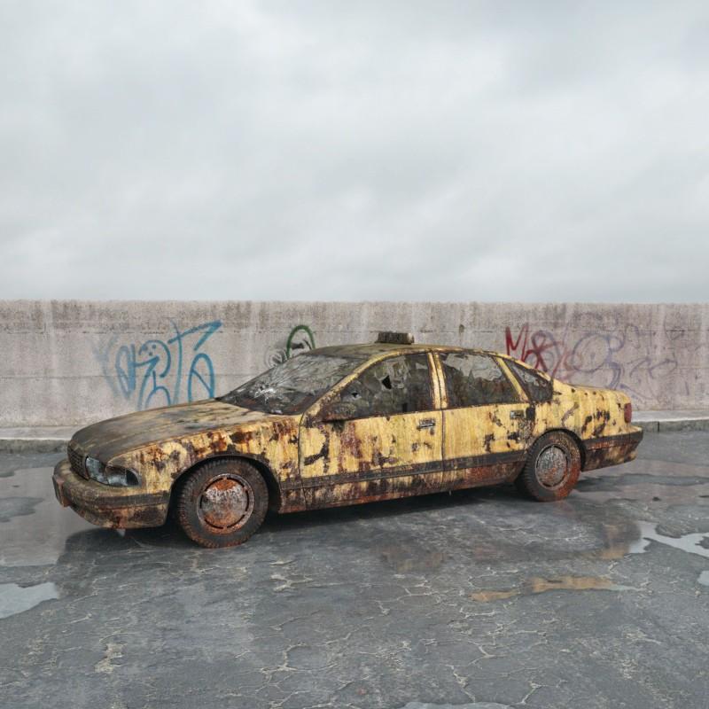 destroyed car 001 am165