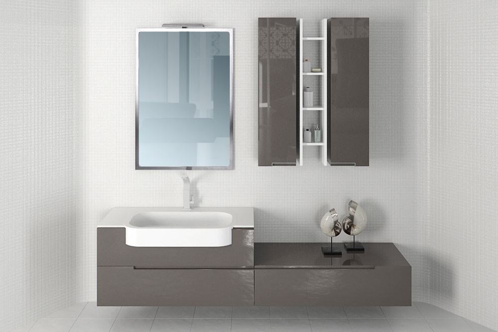 Bathroom furniture 41 AM168 Archmodels