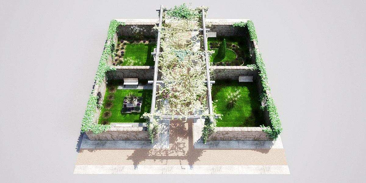 garden 2 AM148 Archmodels
