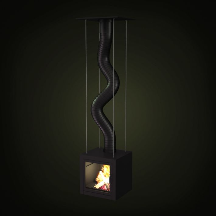 fireplace 26 AM97 Archmodels
