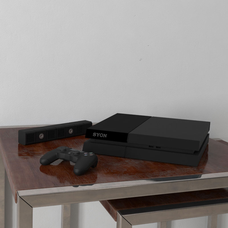 gaming console 2 AM156 Archmodels