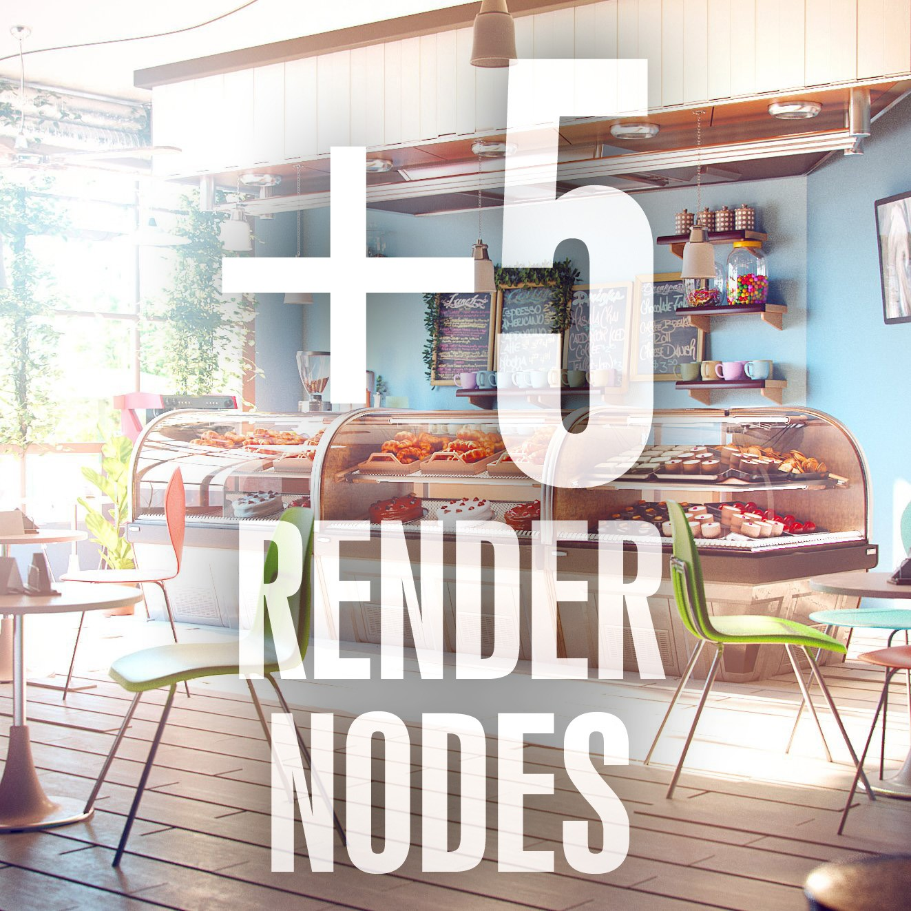 V-Ray 3.5 for 3ds Max + 5 Render Nodes