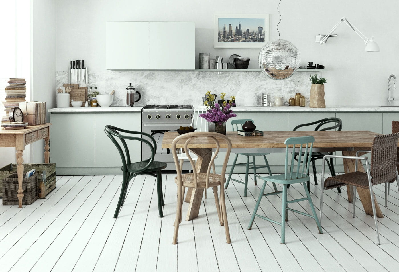 Scandinavian Interiors for C4D Bundle vol. 1