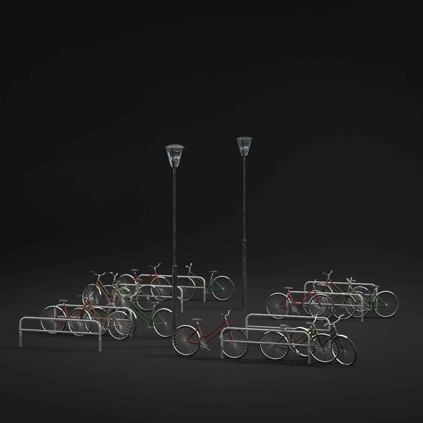 bicycle station 2 AM211 Archmodels