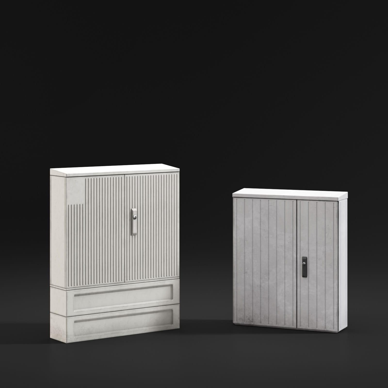 transformer boxes 11 AM211 Archmodels