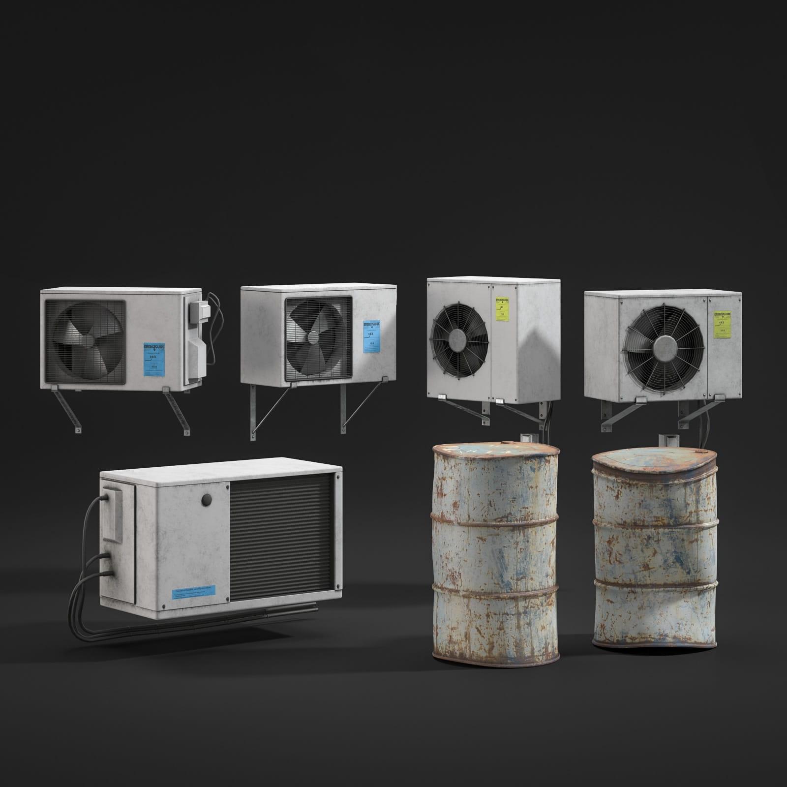 ventilation fans 13 AM211 Archmodels